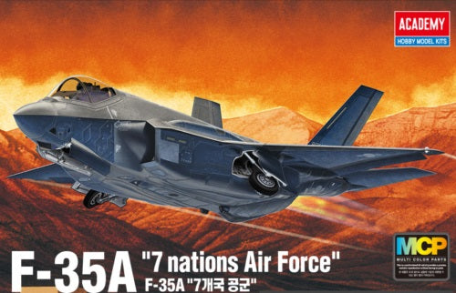 "1/72 ACADEMY F-35A ""SEVEN NATIONS AIR FORCE"" ACA-12561"