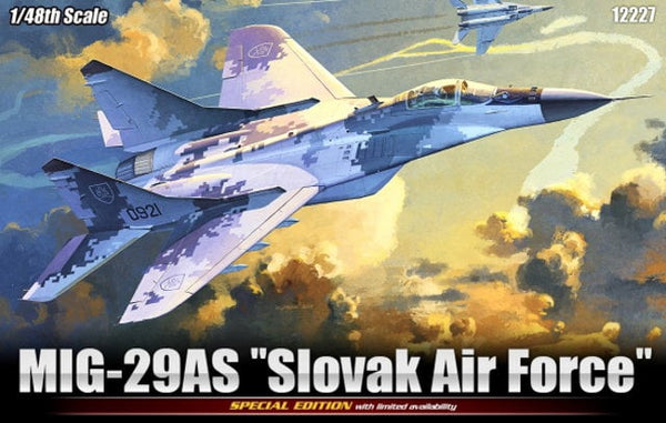 1/48 ACADEMY MIG-29AS SLOVAK AIRFORCE LIMITED EDITION ACA-12227