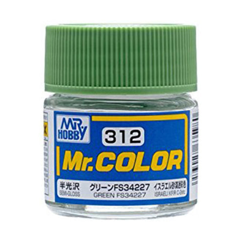 MR COLOUR SEMI GLOSS GREEN FS34227 GN C312