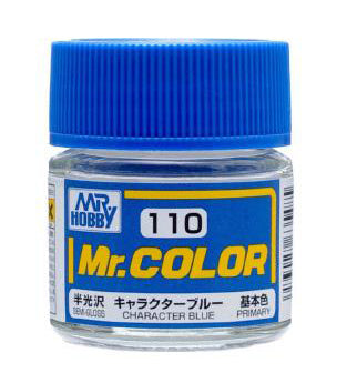 MR COLOUR SEMI  GLOSS  CHARACTER  BLUE GN C110