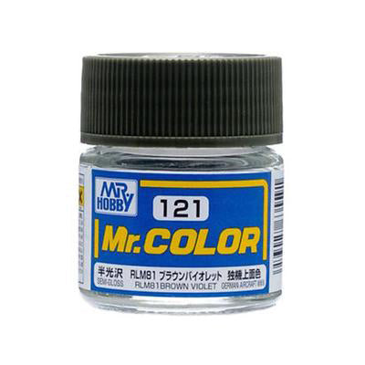 MR COLOUR SEMI GLOSS RLM81 BROWN VIOLET GN C121