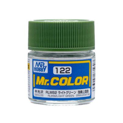 MR COLOUR SEMI GLOSS RLM82 LIGHT GREEN GN C122