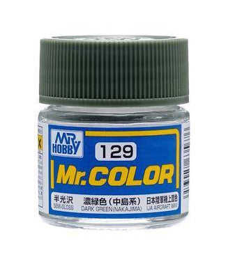 MR COLOUR SEMI GLOSS DARK GREEN (NAKAJIMA) GN C129
