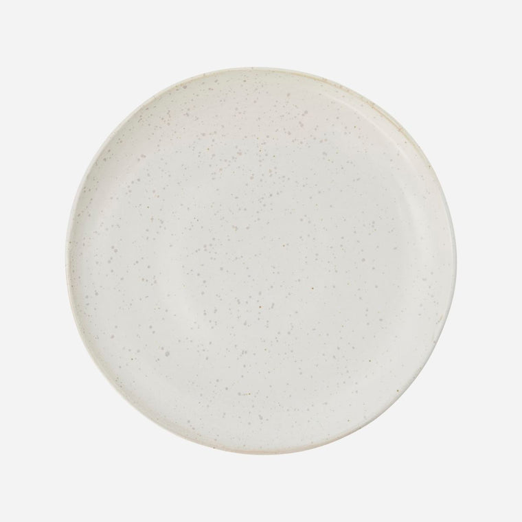 LUNCH PLATE PION - GREY/WHITE