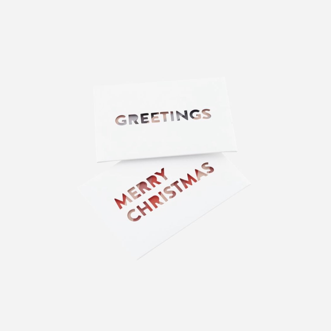 NOTE CARDS w/ ENVELOPE - XMAS