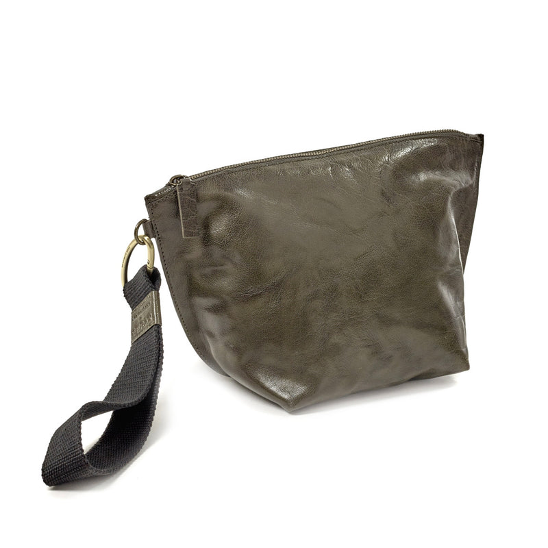 OLIVE CLUTCH BAG - BEA MOMBAERS