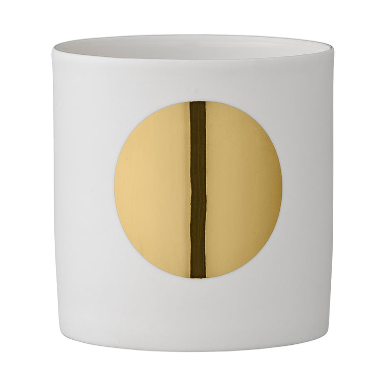 VOTIVE WHITE PORCELAIN