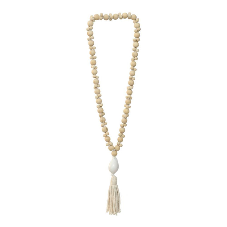 THE KUBU NECKLACE- WHITE NATURAL