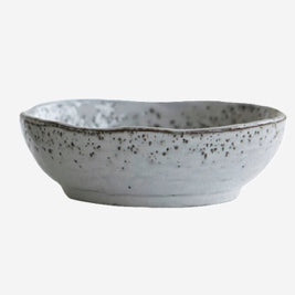 BOWL RUSTIC GREY /BLUE - M