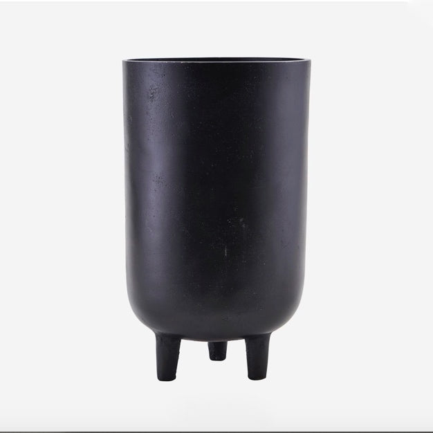 PLANTER, JANG, BLACK OXIDISED