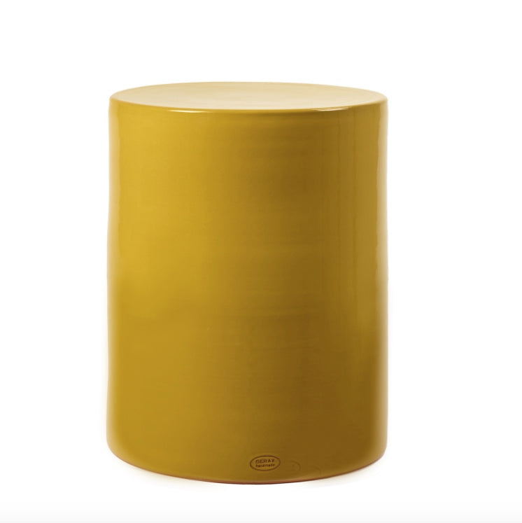 SIDE TABLE PAWN OCHRE
