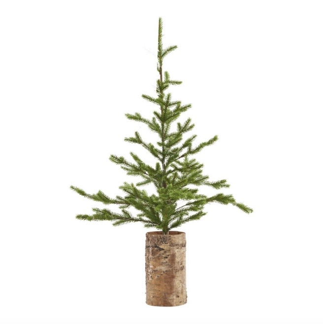 XMAS TREE W/ WOODEN BASE