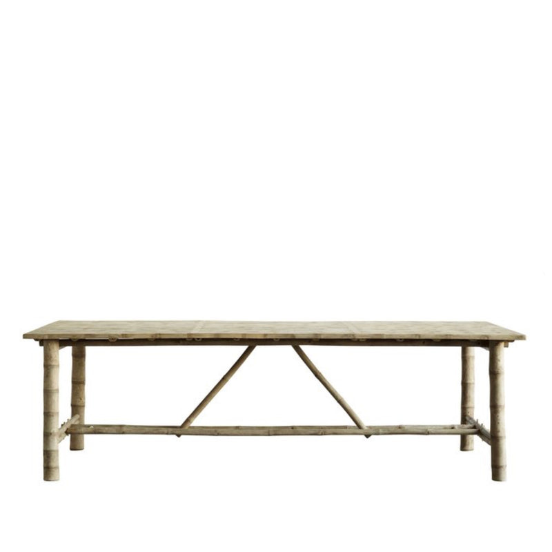 BAMBOO DINING TABLE  - ON ORDER