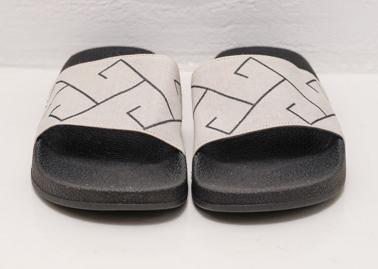 ERGON MYKONOS SLIDES - BLACK