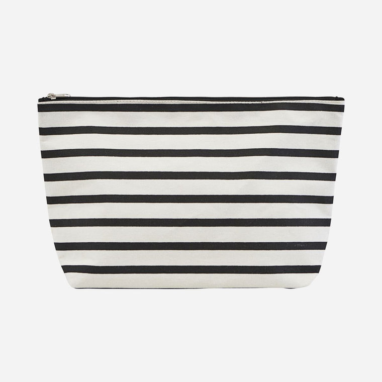 TOILETRY BAG w/ Stripes