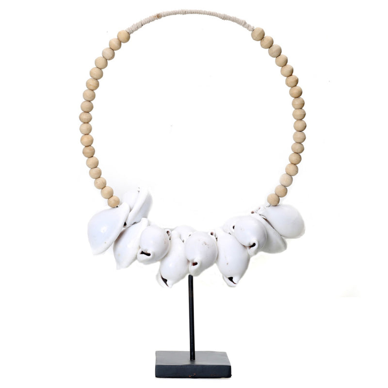 WHITE COWRIE NECKLACE