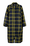 JOPPE Jacket Blue-Yellow checks