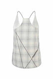 Marcella Top woven checks LAST PIECE