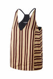 Marcella Silk stripes