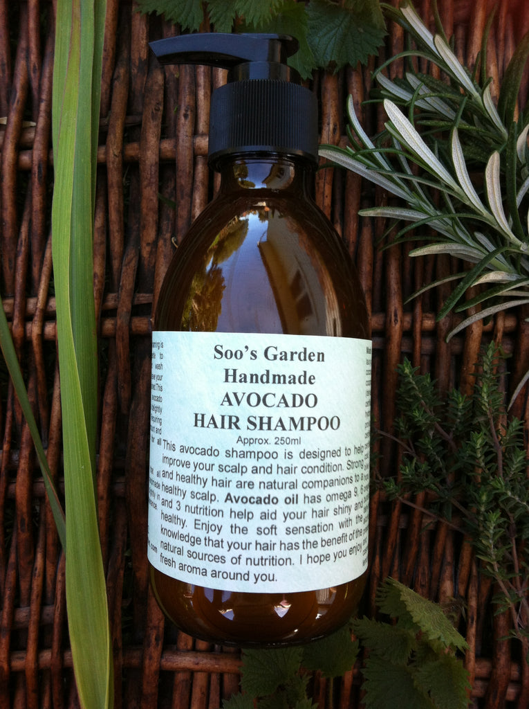 Avocado hair shampoo 250ml