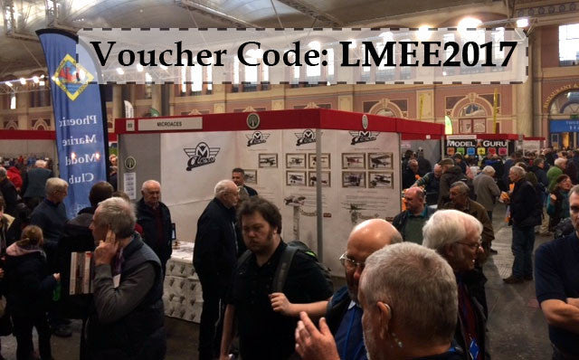 Voucher Code LMEE2017 valid until 31st Jan 2017