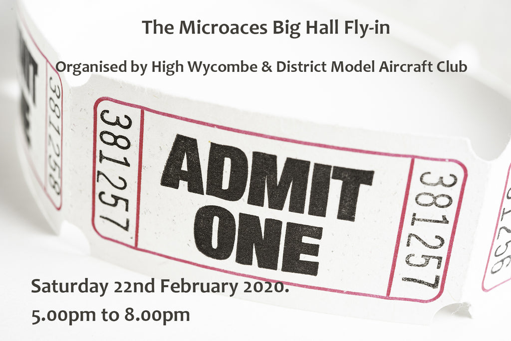 Microaces Big Hall Fly-in - Admit One