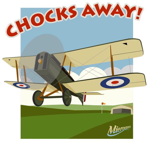 Microaces 'Chocks Away!' PIC-TEE