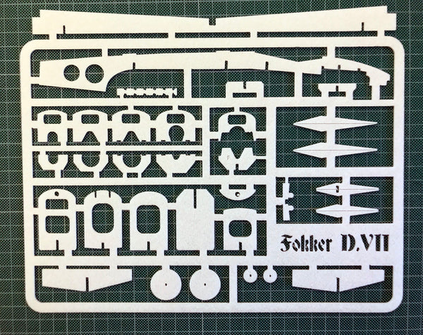 Fokker DVII Spare Parts - 2mm Depron Sheet