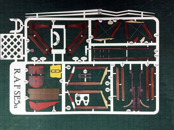 SE5a Spare Parts - Plastic Sheet
