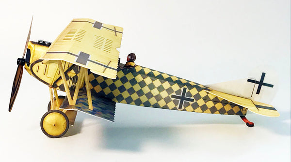 Microaces Aero Fokker D.VII 'Sachsenberg' Kit - Limited Edition