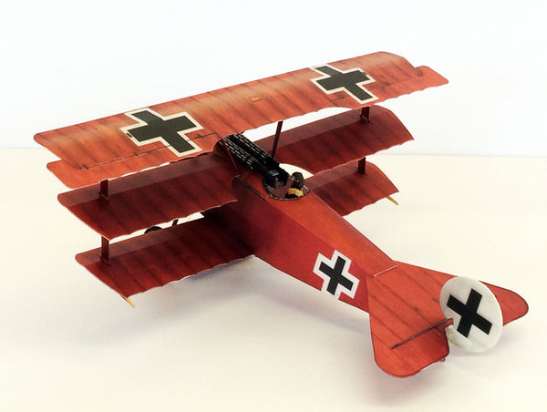 Microaces Aero Fokker Dr.1 Red Baron Kit