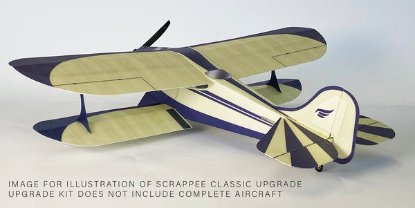 Microaces Scrappee Classic Biplane Upgrade Kit
