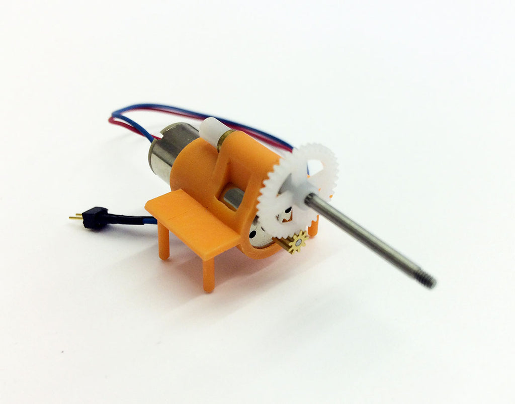 Microaces Micro Motor and Gearbox (LONG prop shaft)