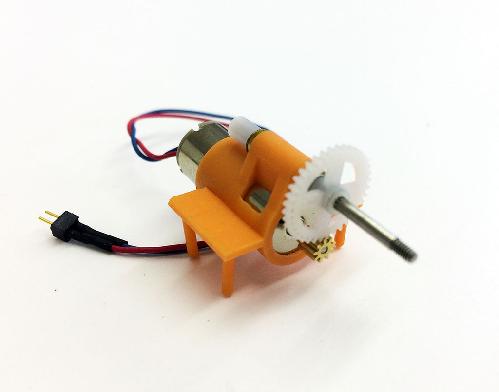 Microaces Micro Motor and Gearbox (STANDARD prop shaft)