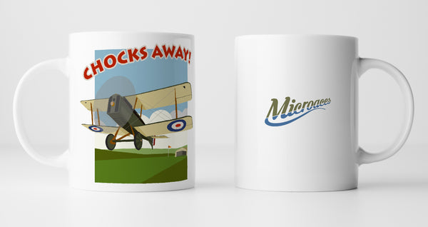 Microaces 'Chocks Away!' Mug
