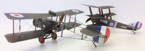 'Double Trouble' Microaces Airco DH.2 & Sopwith Triplane