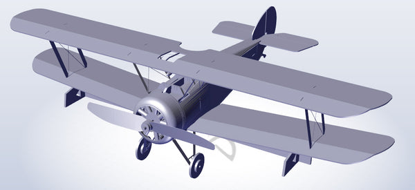Microaces Sopwith F.1 Camel - D8118