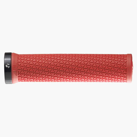 Bontrager Race Lite MTB Grip Red/Black - Foresttrek Cycle Centre Cycling Bicycle