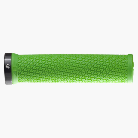 Bontrager Race Lite MTB Grip Green/Black - Foresttrek Cycle Centre Cycling Bicycle