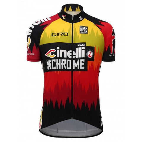 2016 TEAM CINELLI CHROME JERSEY - Foresttrek Cycle Centre Cycling Bicycle
