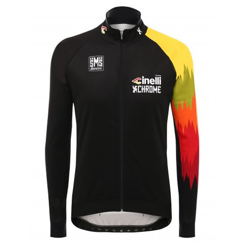 2016 TEAM CINELLI CHROME WINTER JACKET - Foresttrek Cycle Centre Cycling Bicycle