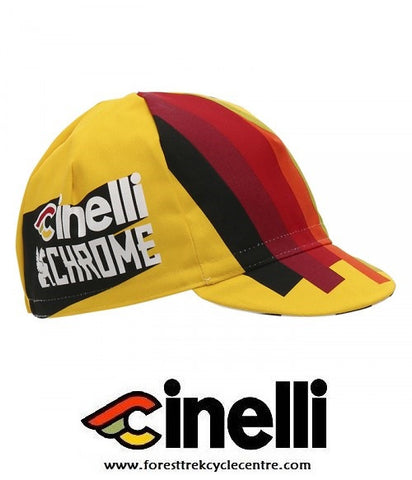 2017 TEAM CINELLI CHROME CAP - Foresttrek Cycle Centre Cycling Bicycle