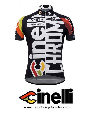 2017 TEAM CINELLI CHROME TRAINING JERSEY - Foresttrek Cycle Centre Cycling Bicycle