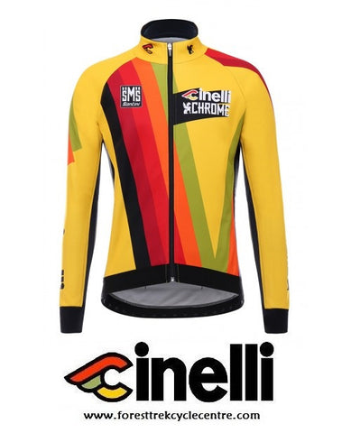 2017 TEAM CINELLI CHROME WINTER JACKET - Foresttrek Cycle Centre Cycling Bicycle