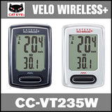 Cateye Velo Wireless+CC-VT235W - Foresttrek Cycle Centre Cycling Bicycle