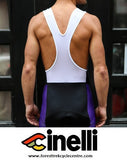 2016 CINELLI ITALO '79 AERO PURPLE BIB SHORTS - PRE-ORDER ONLY - Foresttrek Cycle Centre Cycling Bicycle