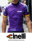 2016 CINELLI ITALO '79 AERO PURPLE JERSEY - PRE-ORDER ONLY - Foresttrek Cycle Centre Cycling Bicycle