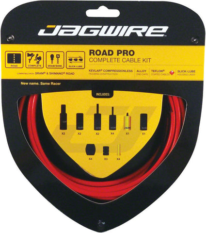 Jagwire Kit Cable Brake/Derailleur Road Pro SRAM®/Shimano® Road -RCK006 - Foresttrek Cycle Centre Cycling Bicycle