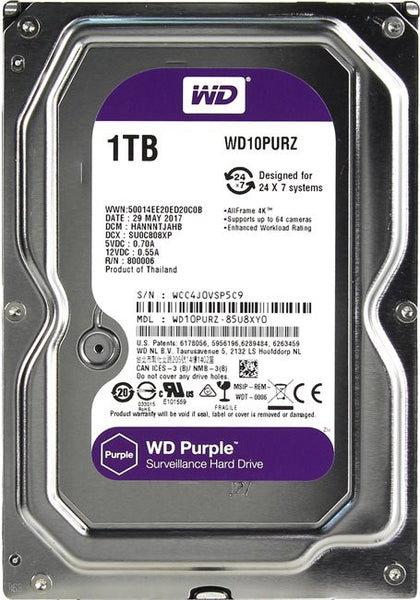 Hard disk for DVR/NVR 1TB