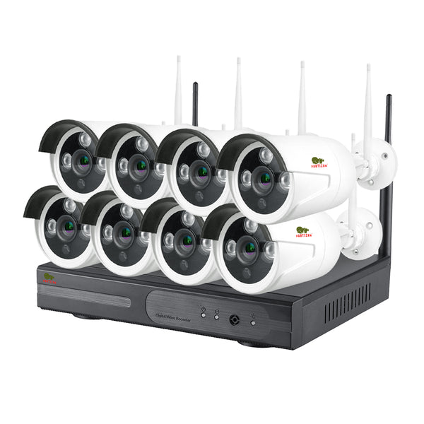 2.0MP Outdoor Wi-Fi set IP-30<br>8xCAM + 1xNVR